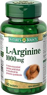 L arginine ed dosage